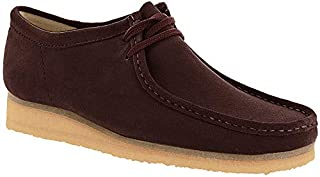 Clarks Wallabee Shoe - Men's Burgundy Suede, 9.5 (B01MR4QXT4) | Amazon price tracker / tracking, Amazon price history charts, Amazon price watches, Amazon price drop alerts