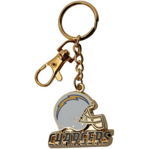 NFL San Diego Chargers Gold-Tone Zamac Keychain