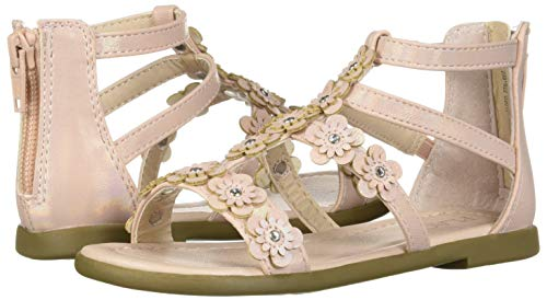 The Children's Place Girls' Sandal, Pink, Youth 5 by The Children's Place (Image #5)
