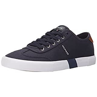 Tommy Hilfiger Men's PANDORA Shoe, NAVY, 10.5 Medium US