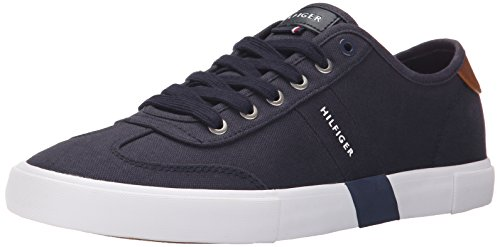 Tommy Hilfiger Men's PANDORA Shoe, NAVY, 10 Medium US