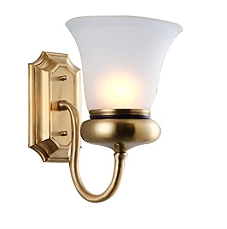 Avanthika E27 Wall Sconces Mounted Wall Bedroom Stair Wall Lights Yang Bang  Full Bronze Lamps Living