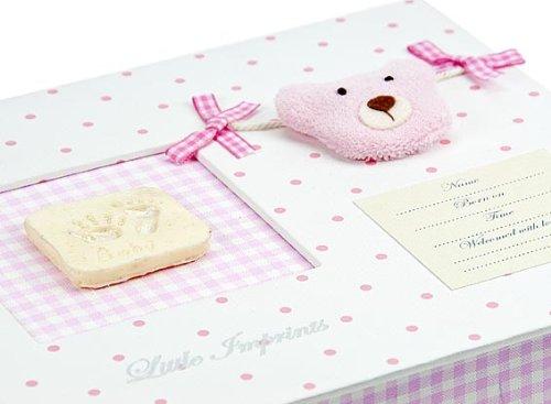 Mousehouse Gifts Baby M/ädchen Geschenke Gips /& Abdrucksets Erinnerungsbox f/ür M/ädchen