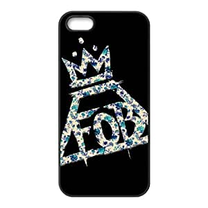 Danny Store 2015 New Arrival TPU Rubber Coated Phone Case Cover for iPhone 5 / 5S - Fall Out Boy