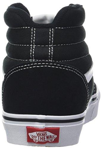 Canvas Ward Suede Hi White Herren Sneaker Black Suede Vans Schwarz C4r Canvas Hohe q5ztwa