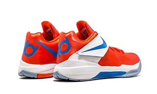 Nike Zoom KD 4 Creamsicle - 473679-800 - Size 10.5 - team orange, photo blue-white