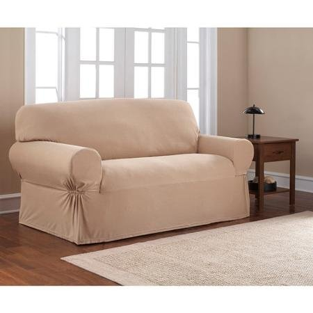 Astounding Amazon Com Mainstays 1 Piece Stretch Slipcover Loveseat Camellatalisay Diy Chair Ideas Camellatalisaycom