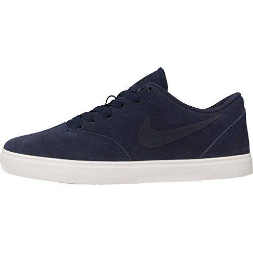 midnight De Sb Navy Multicolore Garçon 400 black Navy midnight Skateboard Chaussures Suede Check gs Nike xzvq4qX