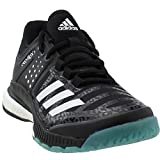 outlet store 79df4 1389d 5 · adidas Womens Crazyflight X Volleyball Shoe BlackWhiteLight Solid  Grey ,6 M