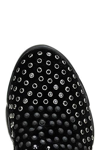Noir Skate Femme Mcglcak000004065i Chaussures De Velours Pinko H07wqU