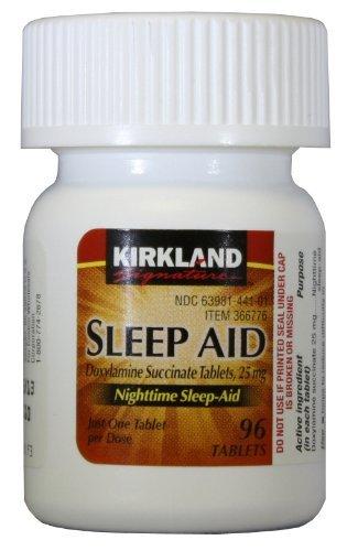 Kirkland Signature sommeil aide succinate de doxylamine 25 mg x 96 Tabs