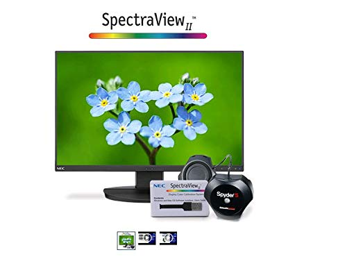 NEC EA231WU-BK 23 WUXGA Business-Class Widescreen Desktop Monitor with Ultra-Narrow Bezel