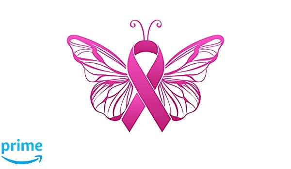 Infinity Breast Cancer Awareness Car or Truck Window Laptop Decal Sticker