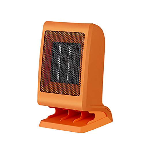 XF Space Heaters Heater - Portable small home energy saving, bathroom, bench top, PTC ceramic heating electric heater (100mmX 97mmX190mm) ()