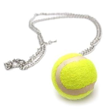 Pendentif balle tennis