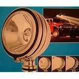 PAIRE DE PHARE PROJECTEUR LONGUE PORTEE 4X4 BUGGY HALOGENE 12V ASPECT CHROME FEUX 12 V VOITURE AUTO