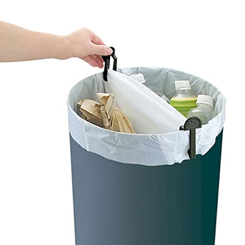 ️ Yu2d ❤️❤️ ️2Pcs Kitchen Trash Garbage Bag Dustbin Waste Bin Can Holder Fixed Clip Clamp