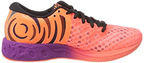 FF Rosa Orange Flash 2 Donna Scarpe Noosa 0690 Coralblackshocking da Asics Running SxwnU50Wq