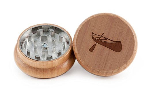 Canoe Herb and Spice Grinder -