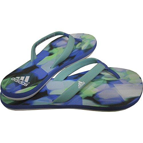 Adidas Chilwa 2W Zehensandalen Damen Verde / Blu / Bianco