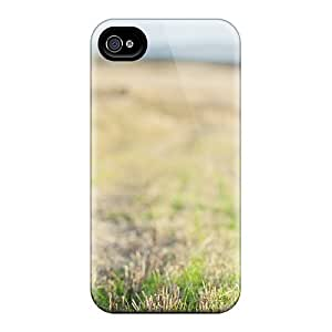 High Grade ConnieJCole Flexible Tpu Case For Iphone 4/4s - Wild Dog Field