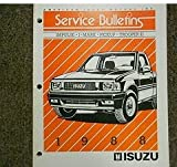 1988 Isuzu Impulse I-Mark Trooper II Service Bulletin Manual FACTORY OEM BOOK 88