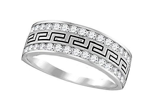 Diamond 14k Band Ring - 4