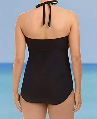 Costume Push Bagno Da Ayaly Donna Nero Monokini up Nuoto Di Costumi PgqndInwxC