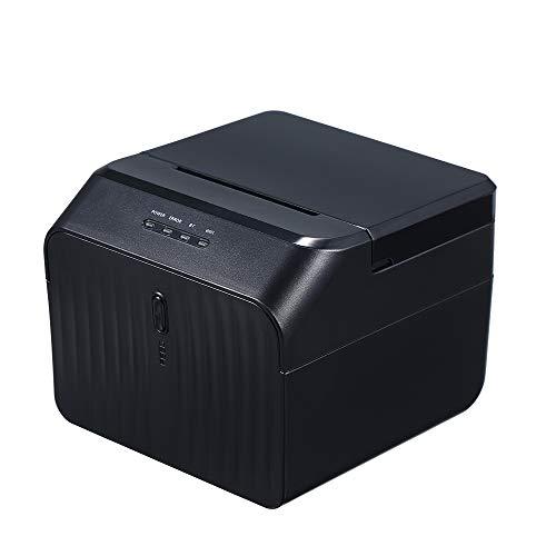 KKmoon BT Printer USB Thermal Receipt Printers Qr Code Barcode Sticker Adhesive Printer 58mm EU Plug
