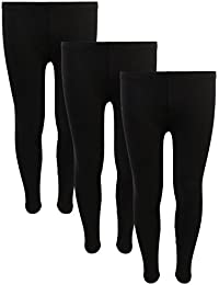 Delia's 3 Pack Girl's Solid Basic Active Leggings