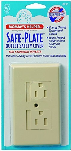 Mommys Helper Safe Plate Electrical Outlet Covers Standard, - 3 Count