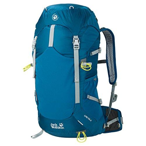 Jack Wolfskin Alpine Trail Rucksack, Moroccan Blue, 40l