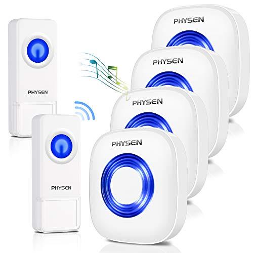 Wireless Doorbell PHYSEN Waterproof