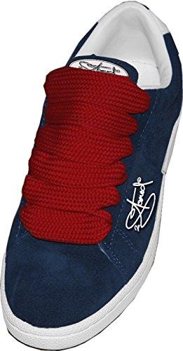 Original 2stoned Phat Laces Schnürsenkel 120cm lang und 3cm breit in 14 Farben Anthrazit