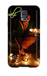 Galaxy S5 Case Cover Skin : Premium High Quality Funny Of Happy Diwali Case