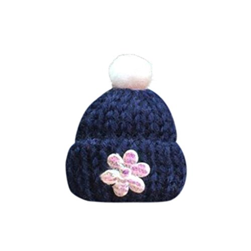 Womail Christmas Hat Car Flower Outlet Fragrant Perfume Clip Air Auto Vent Freshener Essential Oil Diffuser Gift Locket Decor (Dark Blue) ()