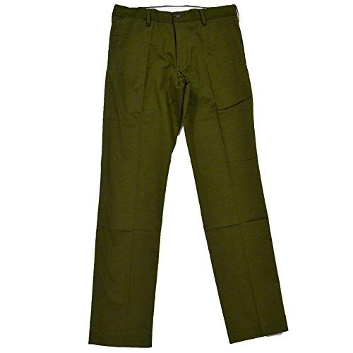 Polo Ralph Lauren Mens Stretch Slim Fit Chino (36x30, Green) (Lauren Ralph Khaki Green)