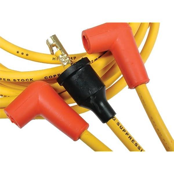 ACCEL ACC5160K Black 7mm Super Stock Spiral Custom Wire Set