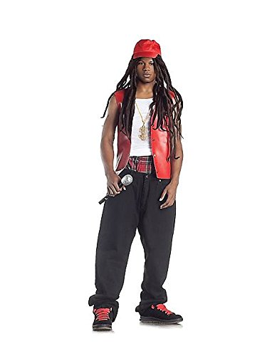 Rapper Costumes For Adults (Bling Bling Rapper Adult Costume - Small/Medium)