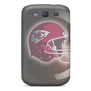 Premium Protective Hard Cases For Galaxy S3- Nice Kansas City Chiefs Design