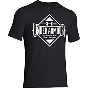Under Armour Paragon Tee - Men's Black / White Large
