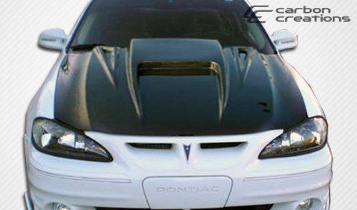 1999-2005 Pontiac Grand Am Carbon Creations Spyder 3 Hood - 1 Piece (Pontiac Grand Am Carbon)