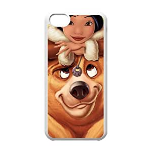 Brother Bear 2 iPhone 5c Cell Phone Case White P6698070