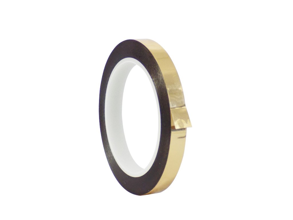 WOD MMYP-1 Gold Metalized Polyester Mylar Film Tape with Acrylic Adhesive (Available in Multiple Colors & Sizes): 3/4 in. x 72 yds. Excellent Chemical and Thermal Stability.