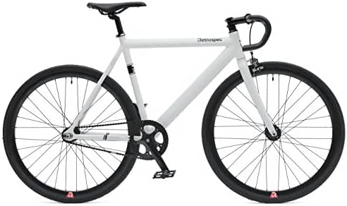 Retrospec Bicycles Fixed-Gear Single-Speed Bike with Sealed Bearing Hubs