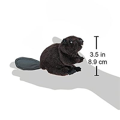 Folkmanis Mini Beaver Finger Puppet: Toys & Games