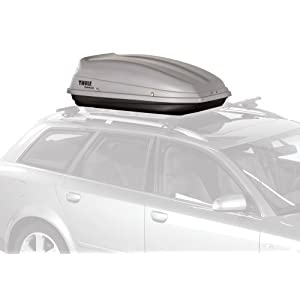 Thule 682 Sidekick Rooftop Cargo Box,Grey