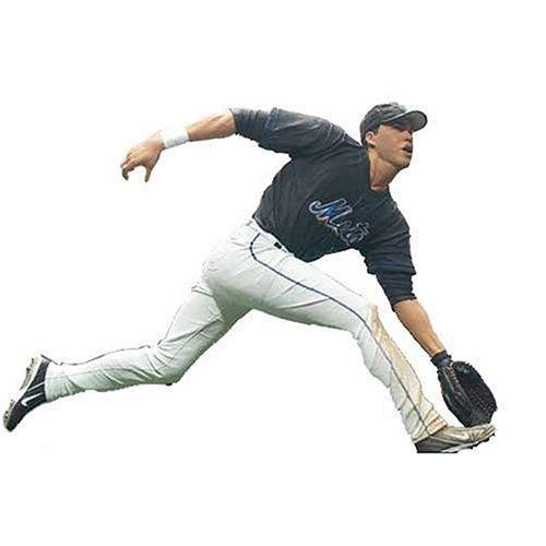 MLB Series 12 Figure: Carlos Beltran #15 New York Mets Center Field Black Jersey ()
