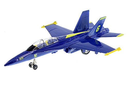 "6"" X-Planes US Navy F-18 Hornet Blue Angels Jet Toy for sale  Delivered anywhere in USA"