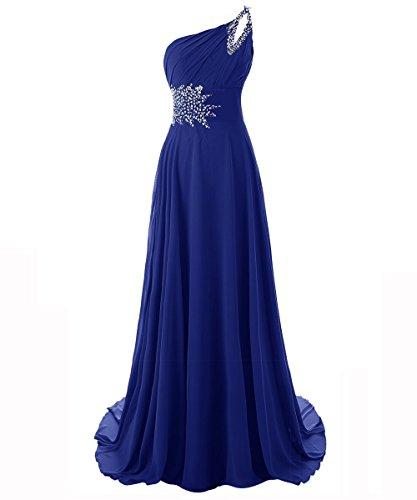 royal blue bridesmaid dresses - 7